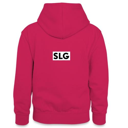 slg - Teenager Contrast Hoodie