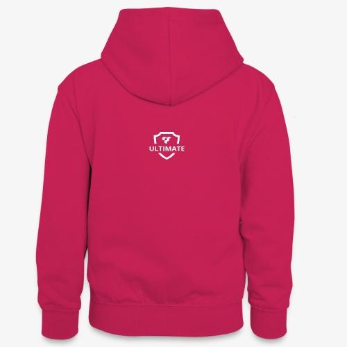 logo - Teenager Contrast Hoodie