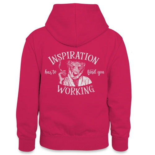 Inspiration - Kontrastluvtröja tonåring
