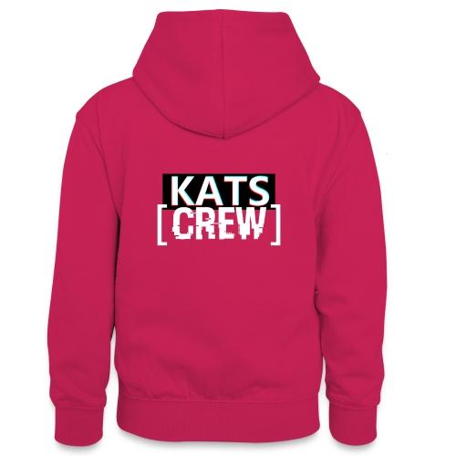 KATS CREW Logo - Młodzieżowa bluza z kontrastowym kapturem