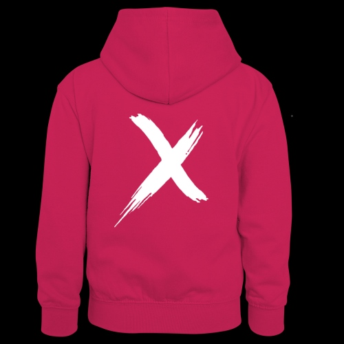 limited edition logo - Teenager contrast-hoodie