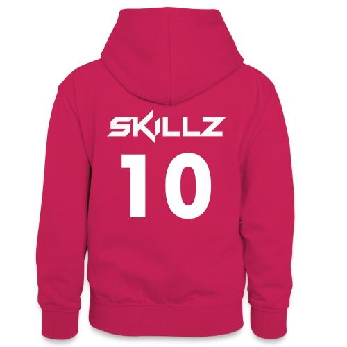 number ten hoodies - Teenager Contrast Hoodie