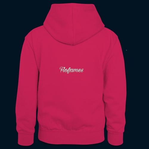 camicia di flofames - Felpa con cappuccio in contrasto cromatico per ragazzi