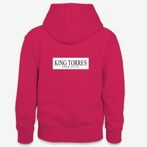 king torres - Sudadera con capucha para adolescentes