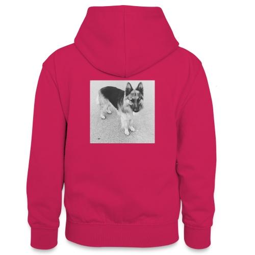 Ready, set, go - Teenager contrast-hoodie