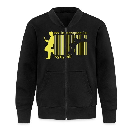 syn2cat hackerspace - Baseball Jacket