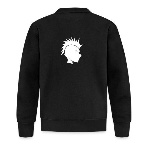 Cally Mohawk Logo - Unisex Baseball Jacket