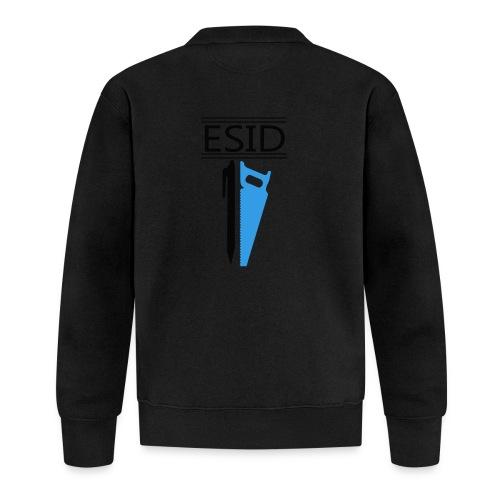 ESID Zwart-blauw - Baseballjack