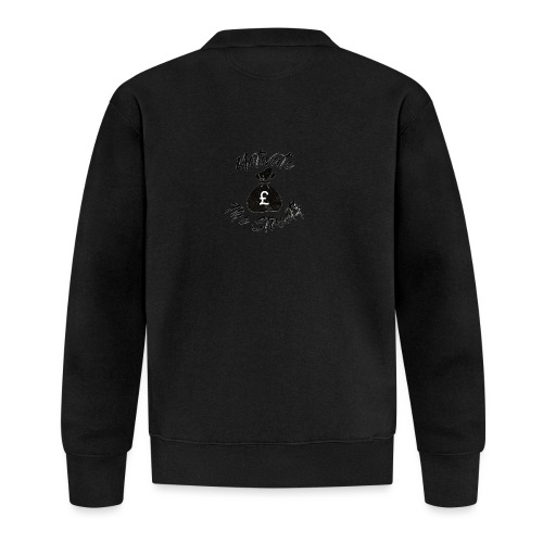 Motivate The Streets - Unisex Baseball Jacket