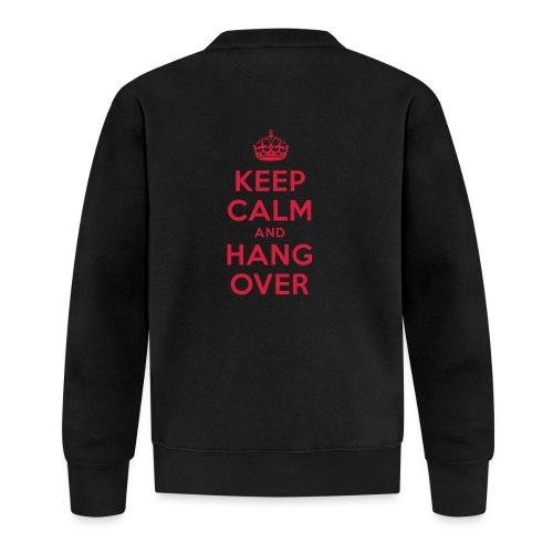keep calm and hang over - Unisex Baseball Jacke