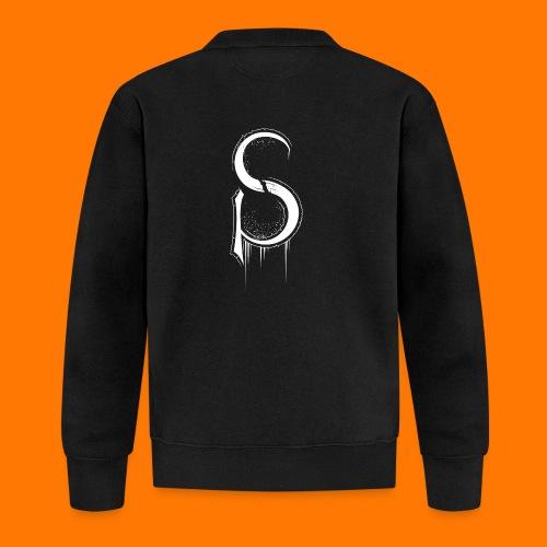 SCP-sign-WHITE transp - Unisex Baseball Jacket