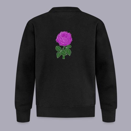 Landryn Design - Pink rose - Unisex Baseball Jacket