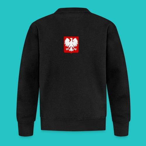 Koszulka z godłem Polski - Kurtka bejsbolowa