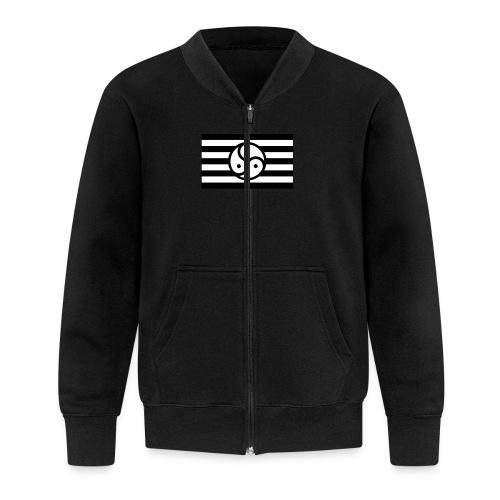 Frauen/Herrinnen T-Shirt BDSM Flagge SW - Baseball Jacke
