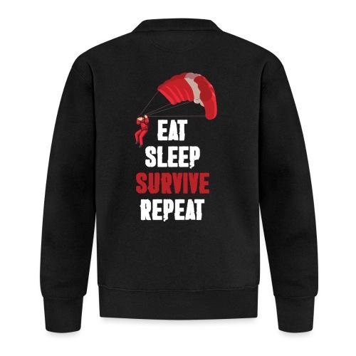 Eat - sleep - SURVIVE - repeat! - Kurtka bejsbolowa
