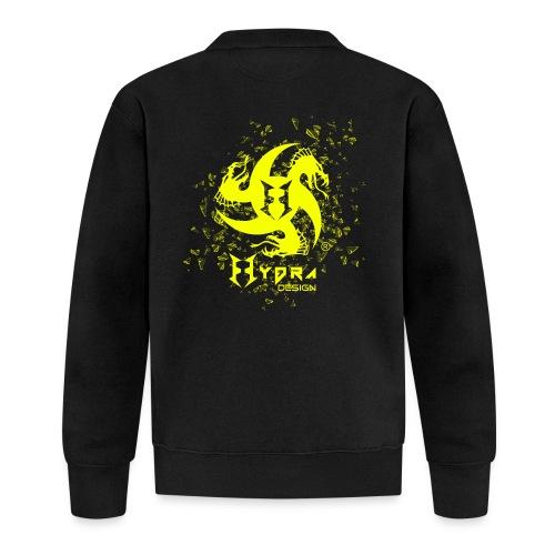 Hydra Design - logo glass explosion - Felpa da baseball unisex
