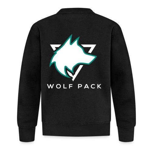 Wolf Pack Logo (NEW) - Unisex Baseball Jacket
