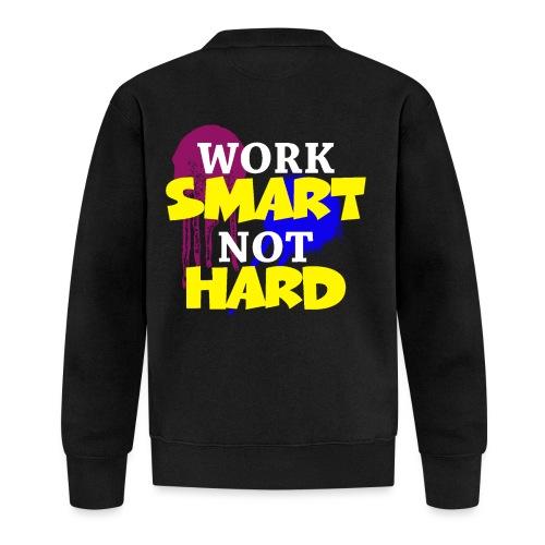 travailler intelligemment pas difficile - Veste zippée
