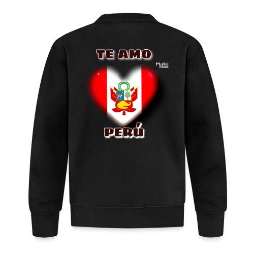 Te Amo Peru Corazon - Unisex Baseball Jacke
