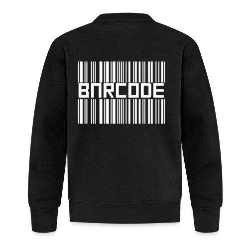 BARCODE BLACK - Unisex Baseball Jacket