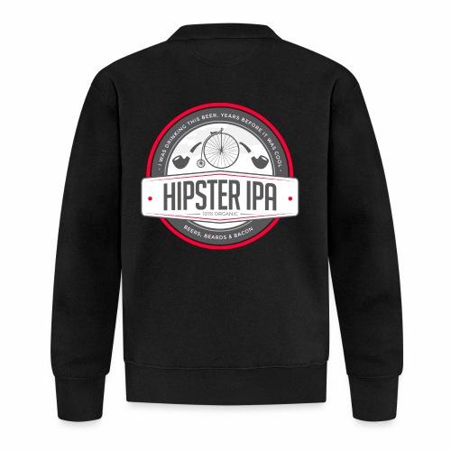 Hipster IPA - Unisex Baseball Jacket