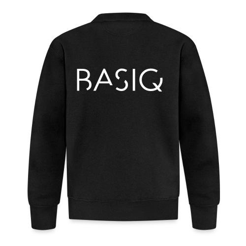 BASIQ white - Unisex Baseball Jacke