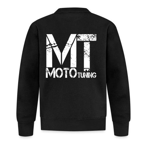 MotoTuning Logo - Unisex Baseball Jacket