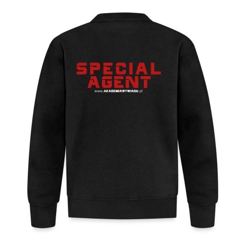 Emblemat Special Agent marki Akademia Wywiadu™ - Kurtka bejsbolowa unisex