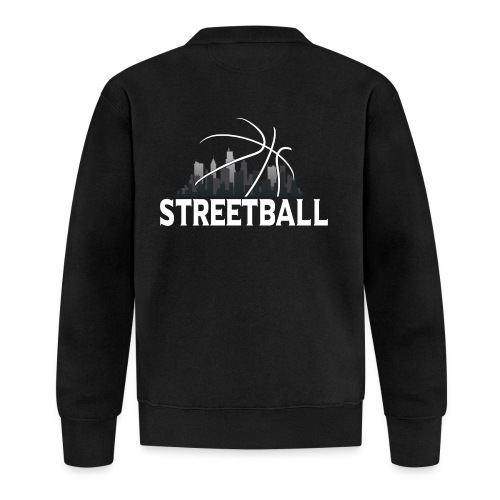 Streetball Skyline - Street basketball - Unisex Baseball Jacket