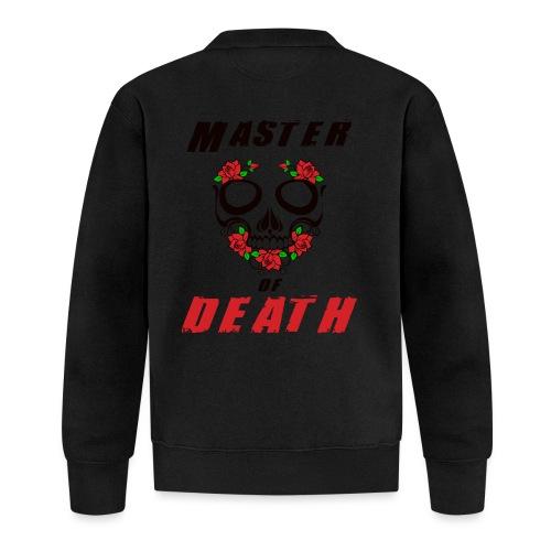 Master of death - black - Kurtka bejsbolowa
