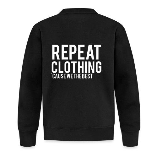 Repeat Clothing - Unisex Baseball Jacket