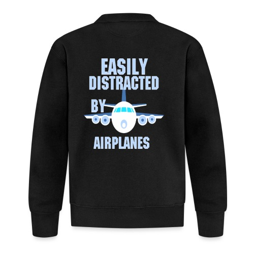 Easily distracted by airplanes - Aviation, flying - Veste zippée Unisexe