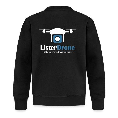 ListerDrone logo - Baseballjakke