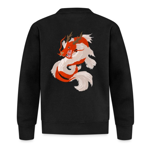 Dragon koi - Felpa da baseball