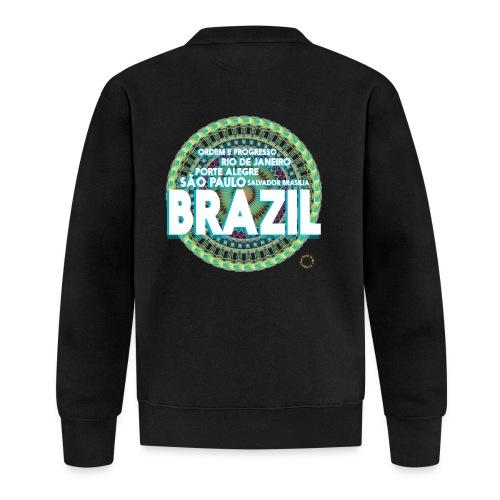 Lemon Brazil Mandala - Veste zippée Unisexe