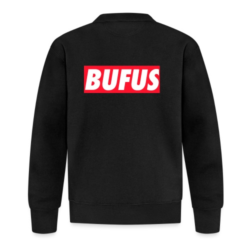 BUFUS - Felpa da baseball unisex