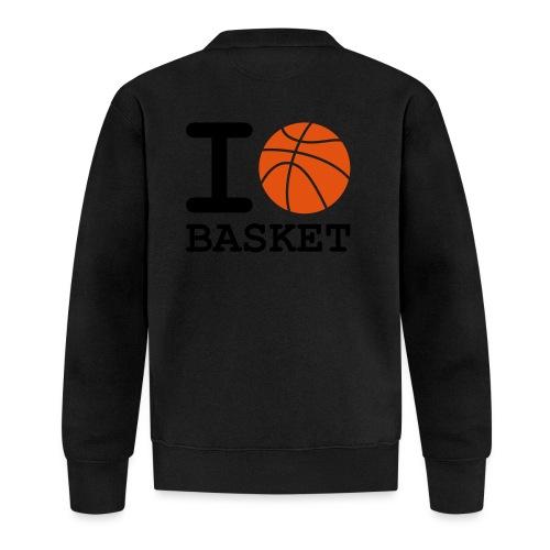 i_love_basket - Veste zippée Unisexe