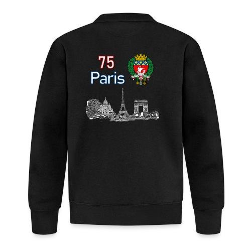 Paris france - Veste zippée Unisexe