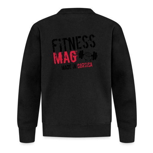 Fitness Mag made in corsica 100% Polyester - Veste zippée