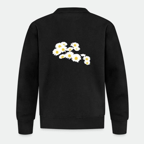 Spring Season Daisies - Baseball Jacket
