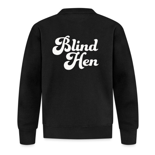 Blind Hen - Logo T-shirt premium, black - Unisex Baseball Jacket