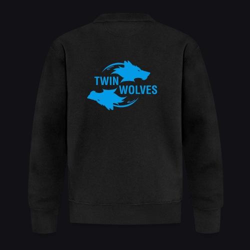 Twin Wolves Studio - Felpa da baseball unisex
