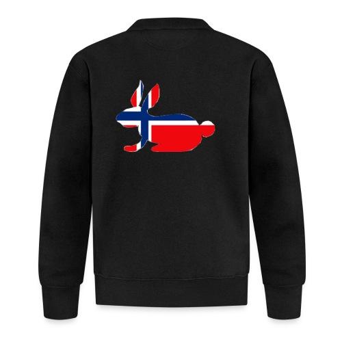 norwegian bunny - Baseball Jacket