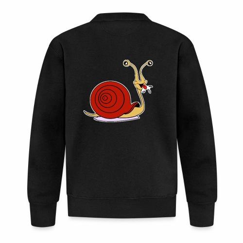Escargot rigolo red version - Veste zippée Unisexe