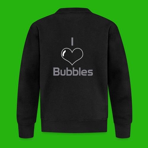 I Love Bubbles Shirt - Baseball Jacket