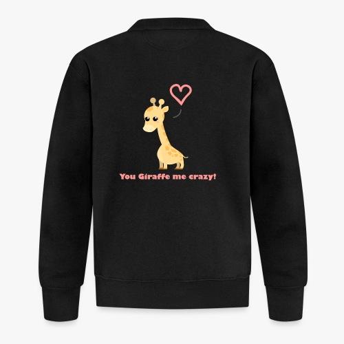 Giraffe Me Crazy - Unisex baseballjakke