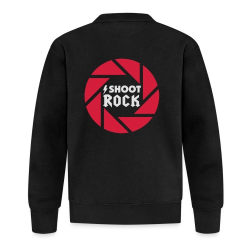 I shoot Rock (white) - Baseball Jacke
