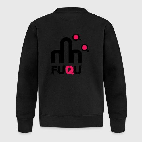 T-shirt FUQU logo colore nero - Felpa da baseball unisex