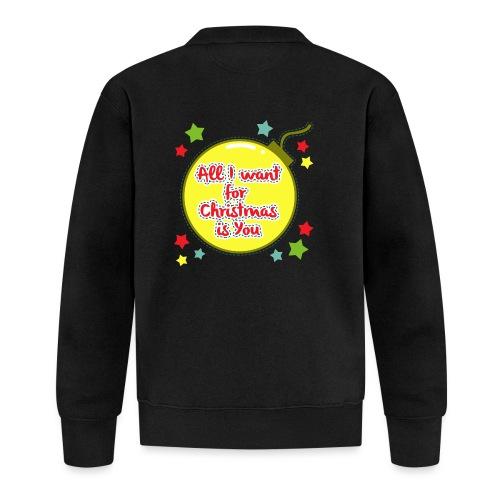 All I want for Christmas is You - Unisex Baseball Jacket