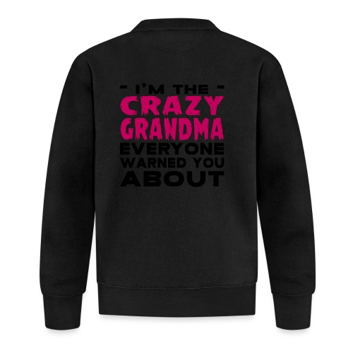 Crazy Grandma - Baseball Jacket